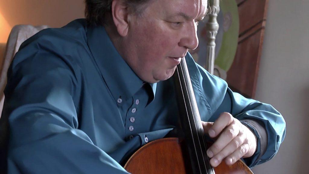 Aires Bohemios de Sarasate por el violonchelista David Johnstone