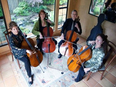 Amadei Cello Ensemble (trio & quartet) Portland, U.S.A.